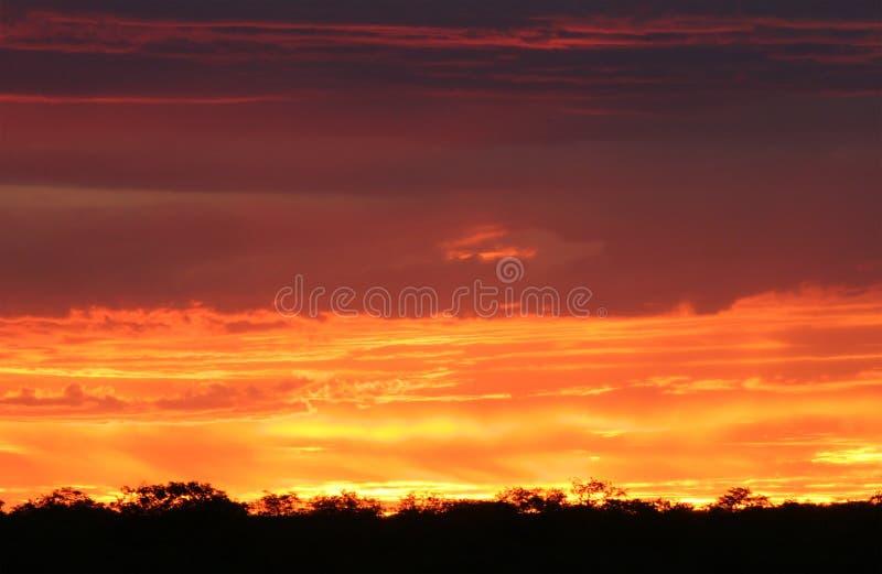 Beautiful Sunset Scene Stock Photo. Image Of Cloudscape