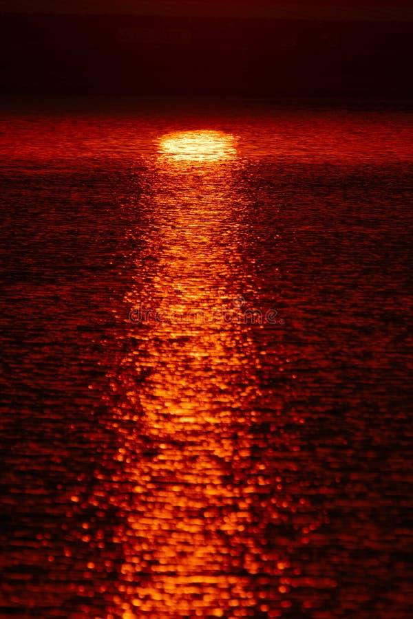 Beautiful sunset sky above clouds with dramatic light.  stock photos