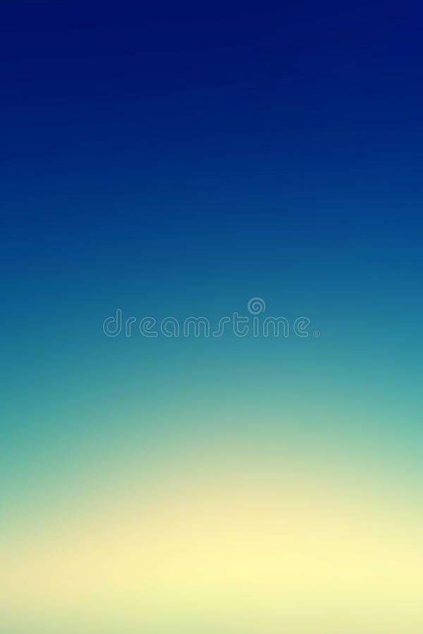 Beautiful sunset sky / Blue Colors Sunset sky wallpaper, vintage royalty free stock photos