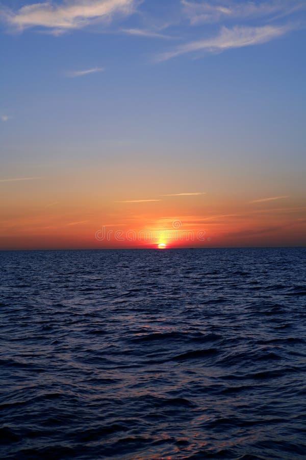 Download Beautiful Sunset Sunrise Over Blue Sea Stock Photo - Image of nature, backdrop: 13282824