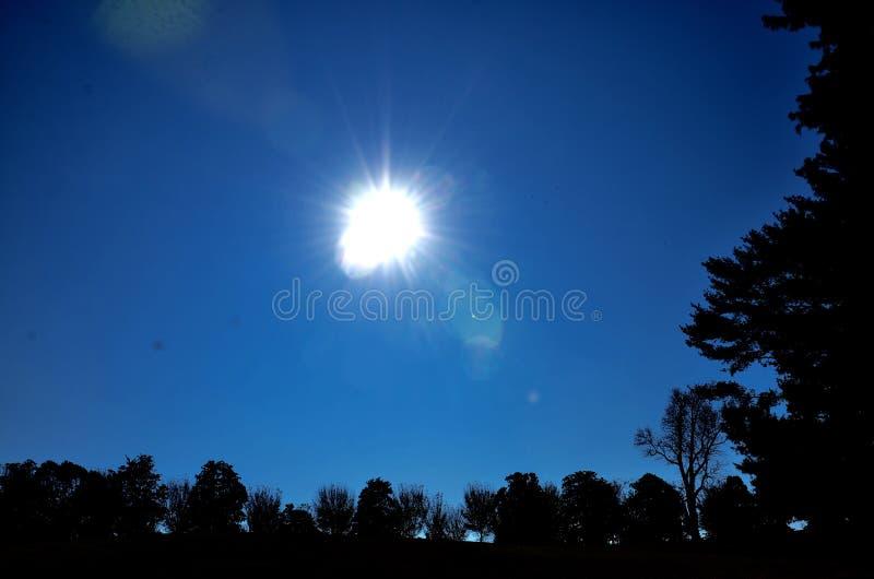 Beautiful sunshine. Beautiful sun shine that is magic to so many people stock images