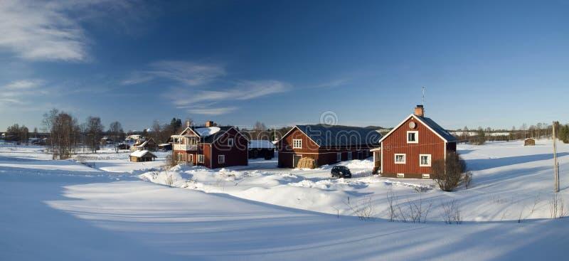 Beautiful Swedish village royalty free stock images
