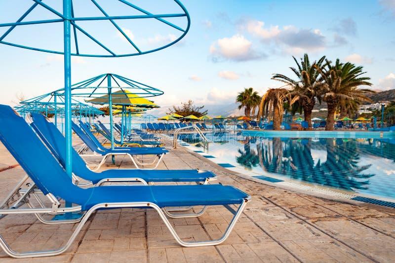 Download Beautiful Swimming Pool On Shore Of Sea Stock Image - Image: 83716963