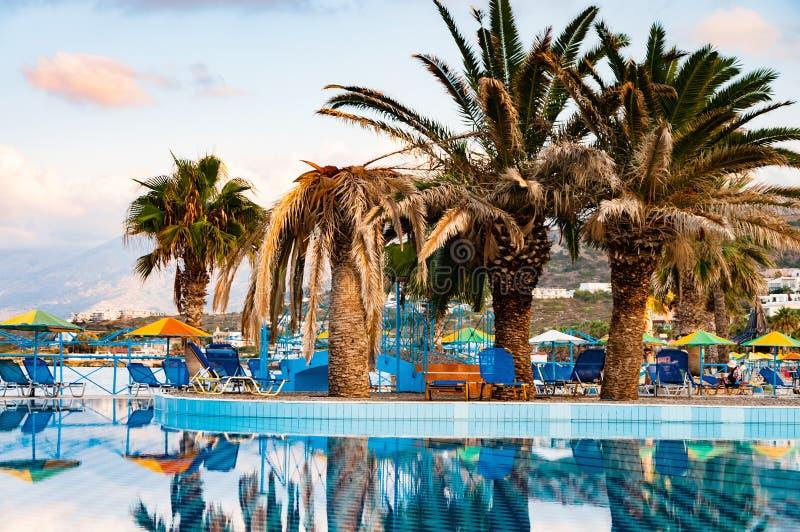 Download Beautiful Swimming Pool On Shore Of Sea Stock Photo - Image: 83717064
