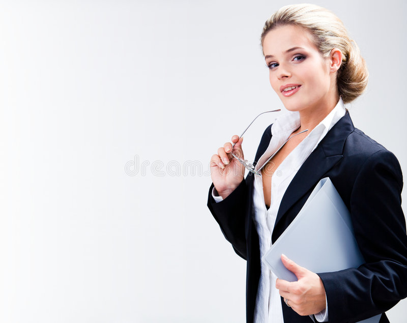Beautiful teacher royalty free stock image