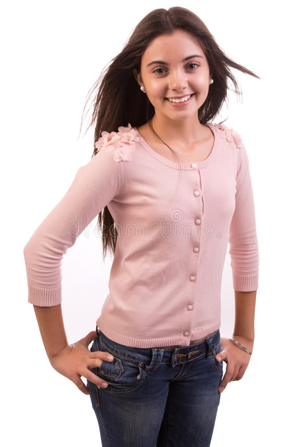 Download Beautiful teen stock photo. Image of technology, laughing - 29677756