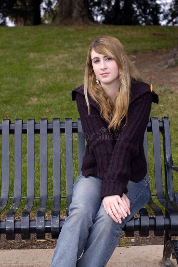 Download Beautiful Teen stock image. Image of long, rainbow, innocent - 3346171