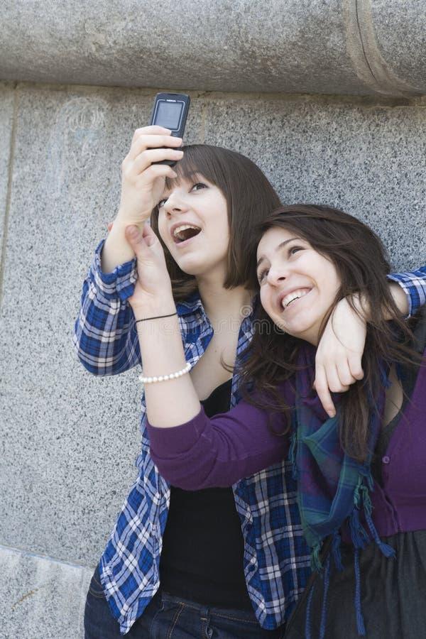Beautiful teen girls n taking self portraits  by m