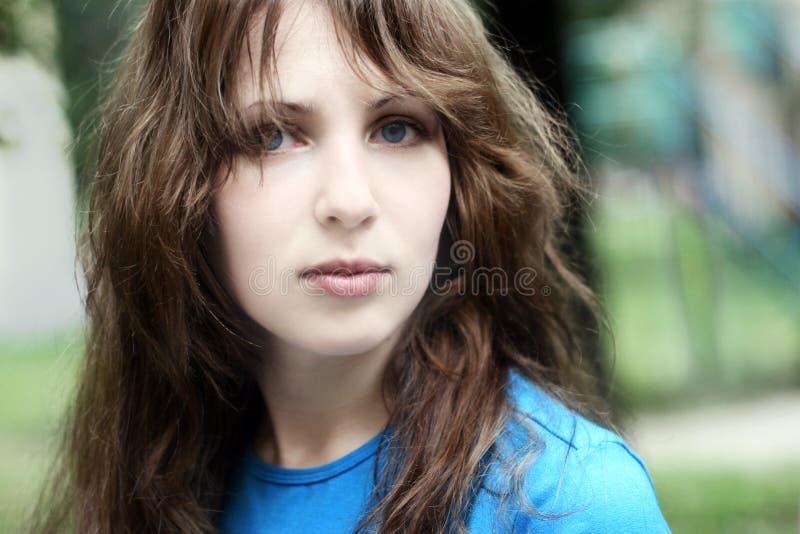 Beautiful teenage girl royalty free stock image
