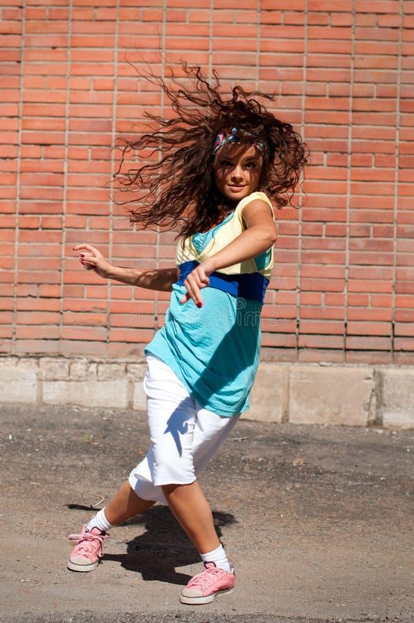 Beautiful Teenage Girl Dancing Hip-Hop Stock Photo - Image -9745