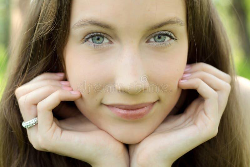 Download Beautiful Teenager Closeup Portrait Stock Photo - Image: 14746460