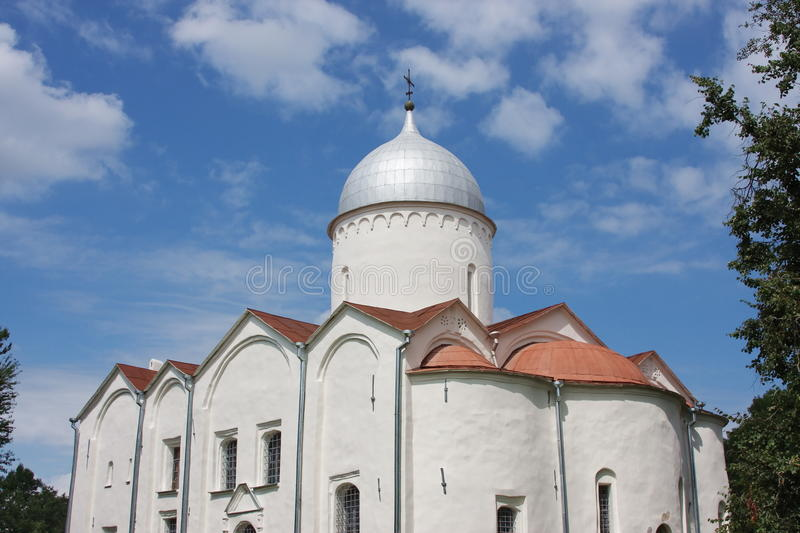 Download Beautiful Temple In City Great Novgorod Stock Photo - Image: 17775024