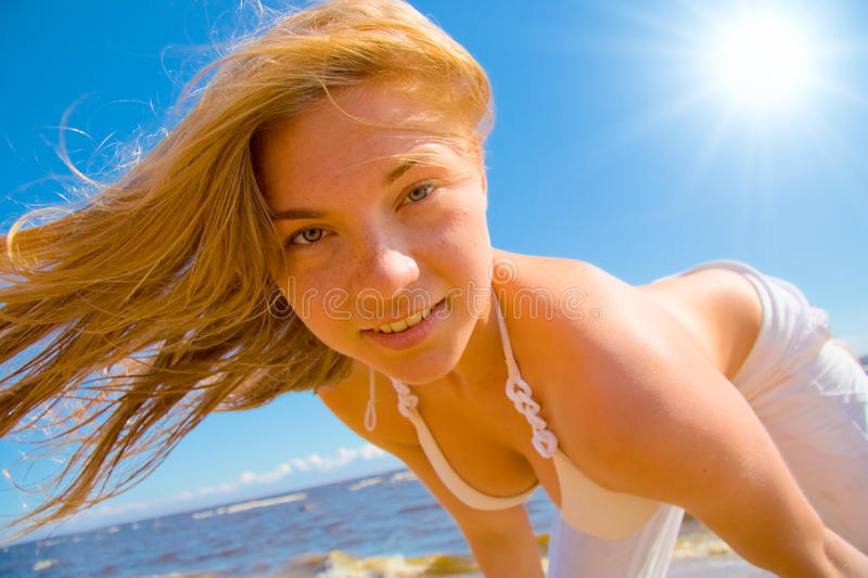 Beautiful Tender Face Royalty Free Stock Images