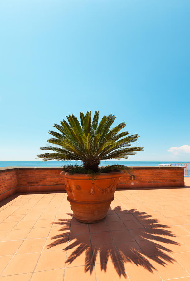 Download Beautiful Terrace Stock Photo - Image: 42172677
