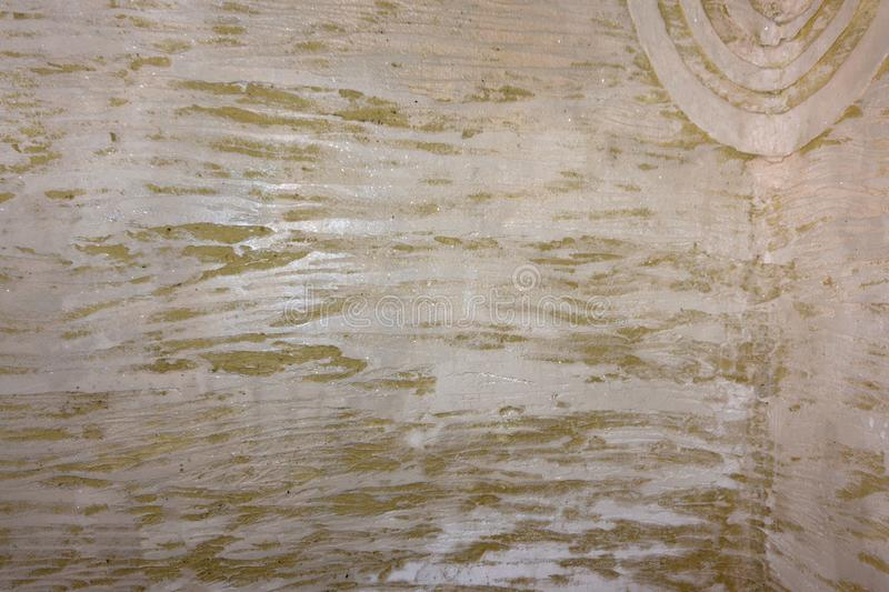 Beautiful texture decorative Venetian stucco for backgrounds cracked stock image