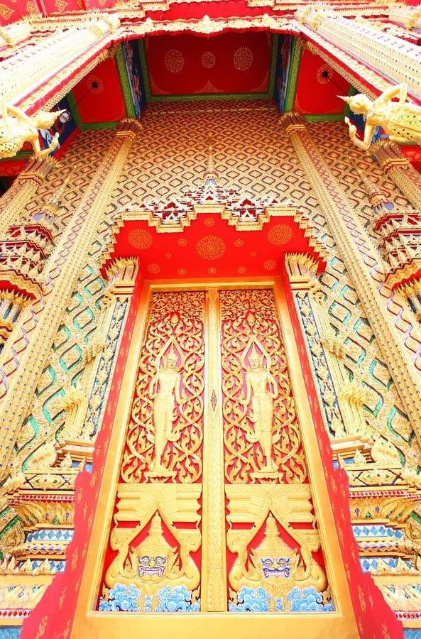 Beautiful Thai temple gate
