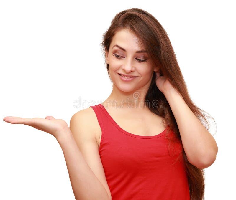 Download Beautiful Thinking Woman Holding Stock Photo - Image: 35234326