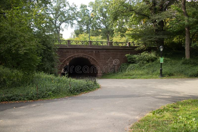 Trefoil Arch in Central Park. Beautiful Trefoil Arch in Central Park, Manhattan, New York City royalty free stock photo