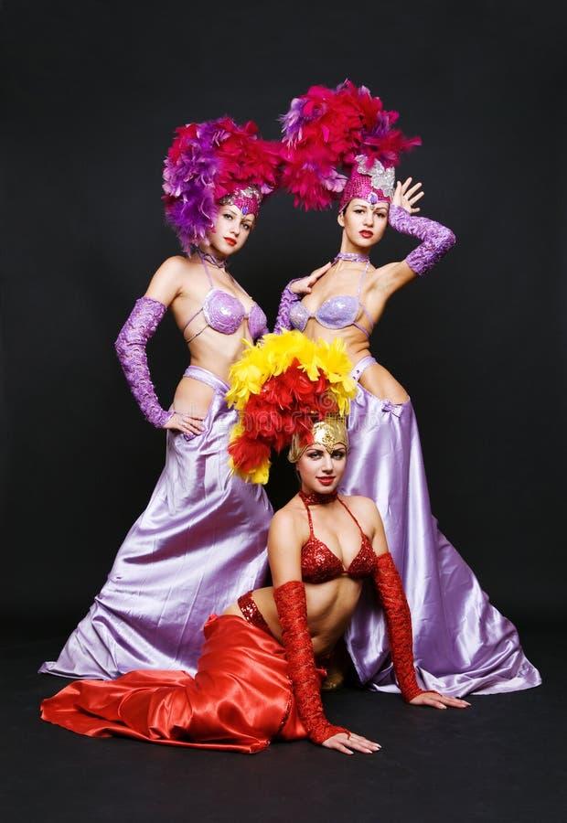 Beautiful Trio Stock Image