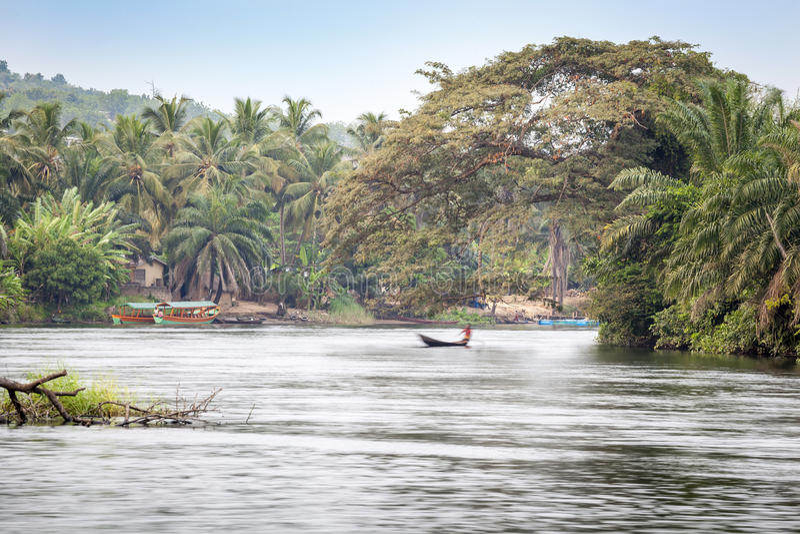 Beautiful tropic scenics royalty free stock photography