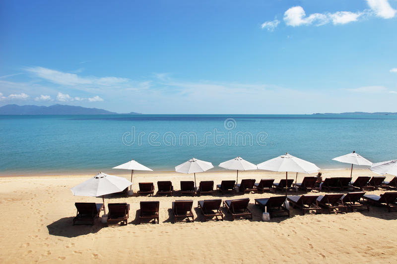 Beautiful Tropical Beach Royalty Free Stock Photos