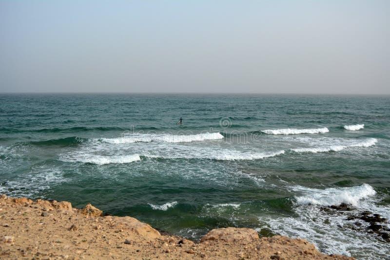 Beautiful tropical beach on paradise Island. Canary Island Fuerteventura Spain. stock photo
