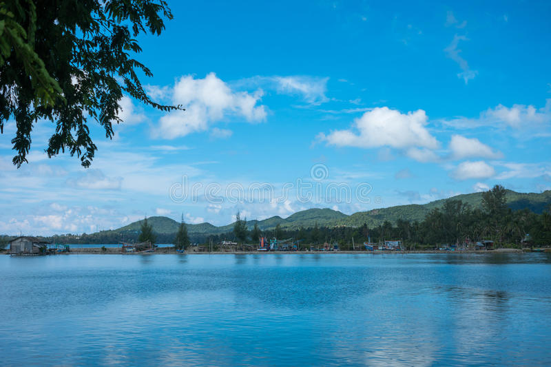 Beautiful tropical landscape royalty free stock images