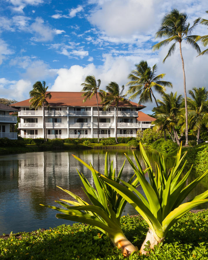 Download Beautiful Tropical Resort stock image. Image of house - 27395999