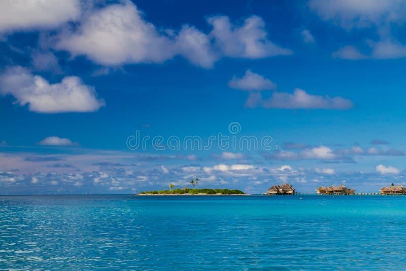 Beautiful tropical scenery royalty free stock photo