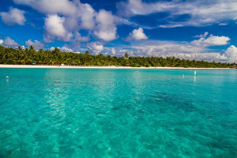 Beautiful tropical scenery stock photography