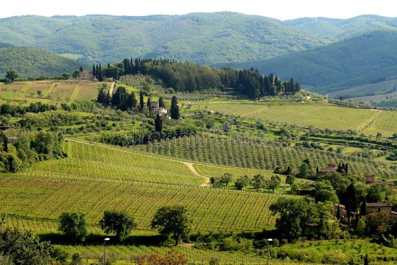 Beautiful Tuscan House stock photos