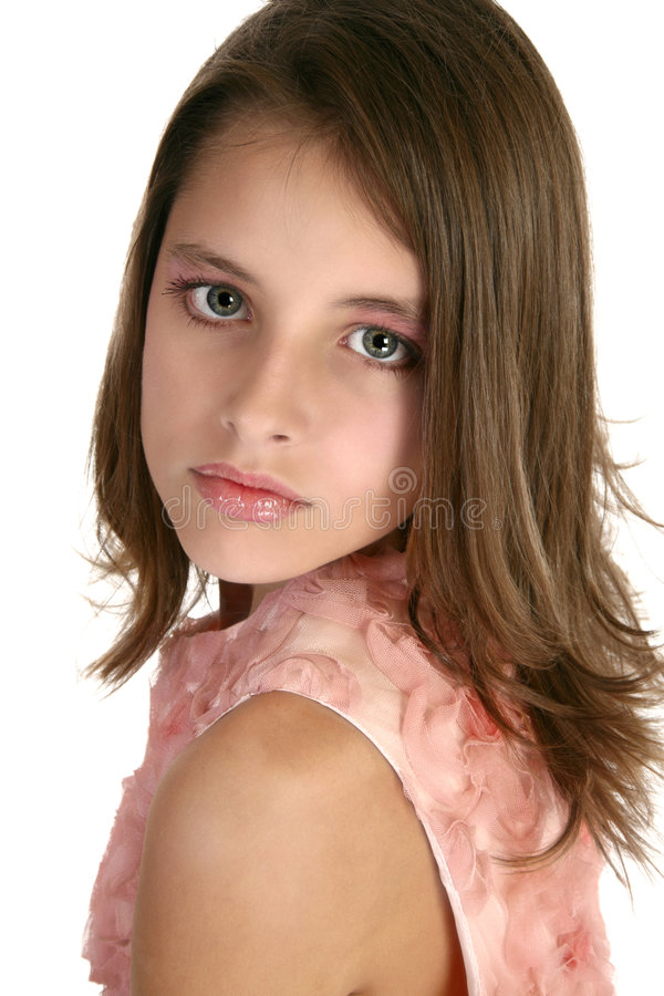 Beautiful Tween royalty free stock photo