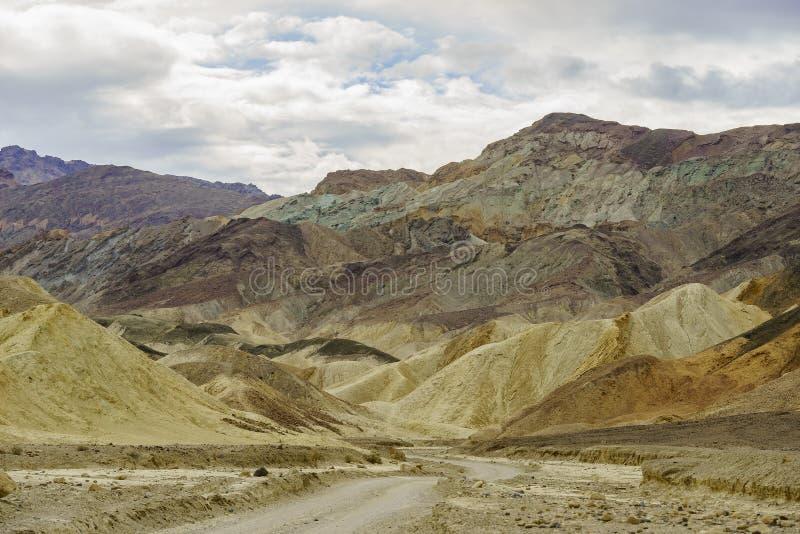 Beautiful twenty mule team canyon landscape stock photos