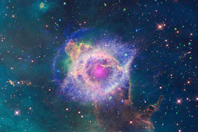 Beautiful of universe. Elements of this image furnished by NASA. Beautiful of universe. Science fiction wallpaper. Elements of this image furnished by NASA royalty free illustration