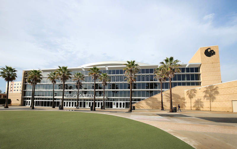 Beautiful University of Central Florida CFE Arena royalty free stock photo