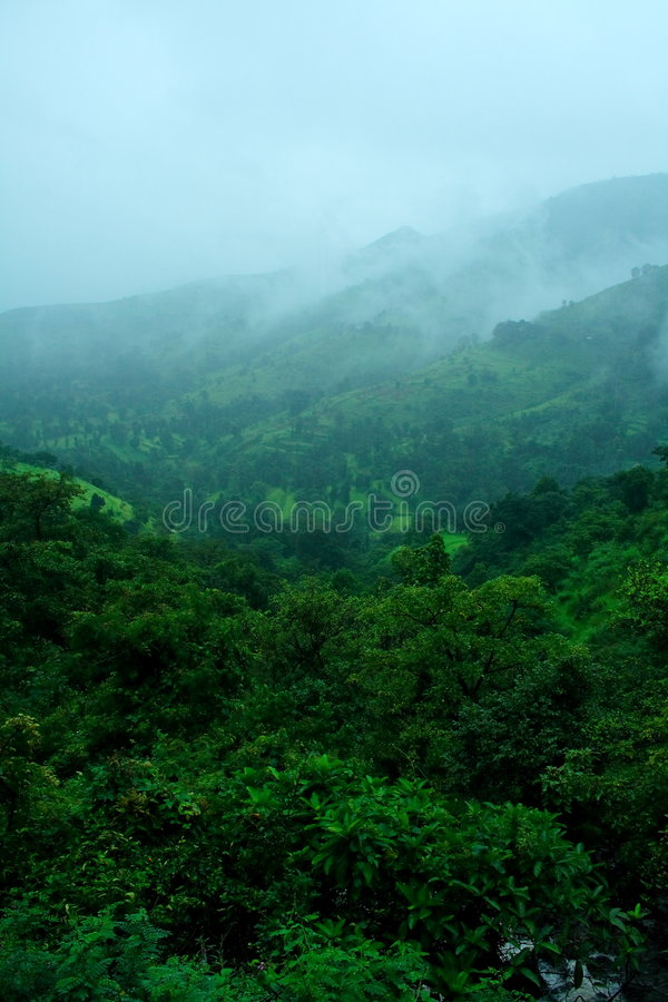 Free Beautiful Valley Color In Monsoon Royalty Free Stock Image - 6800186