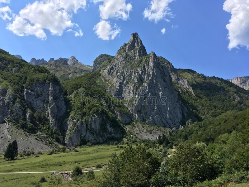 Mountains in the French Pyrenees France royalty free stock photos
