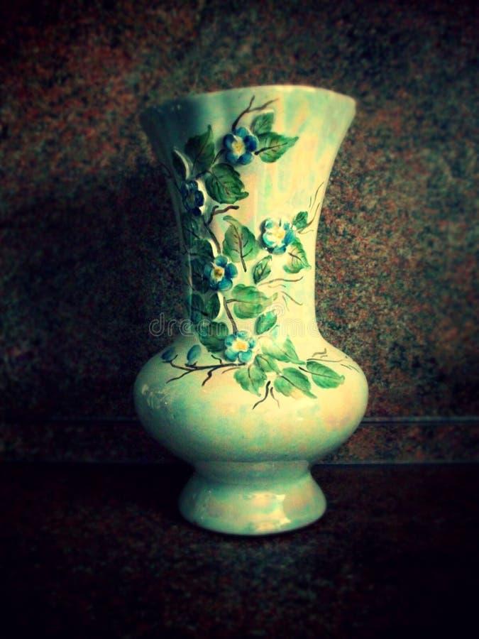 Beautiful vase stock image
