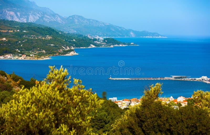 Samos royalty free stock photography