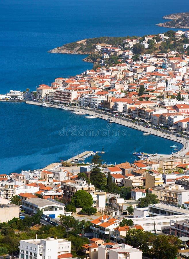 Samos island royalty free stock photography