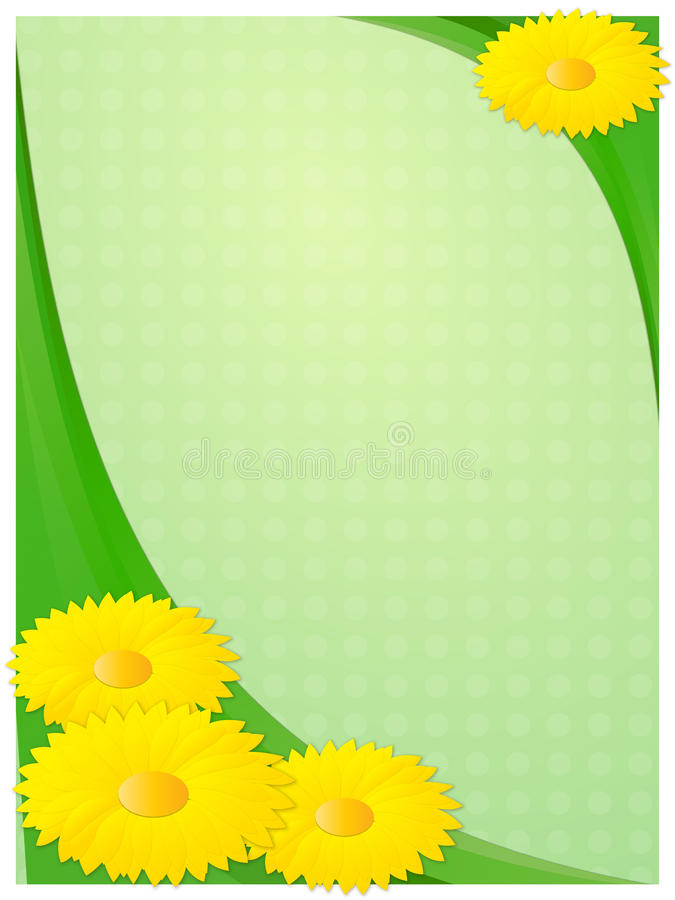 Beautiful vector background for greeting card stock image