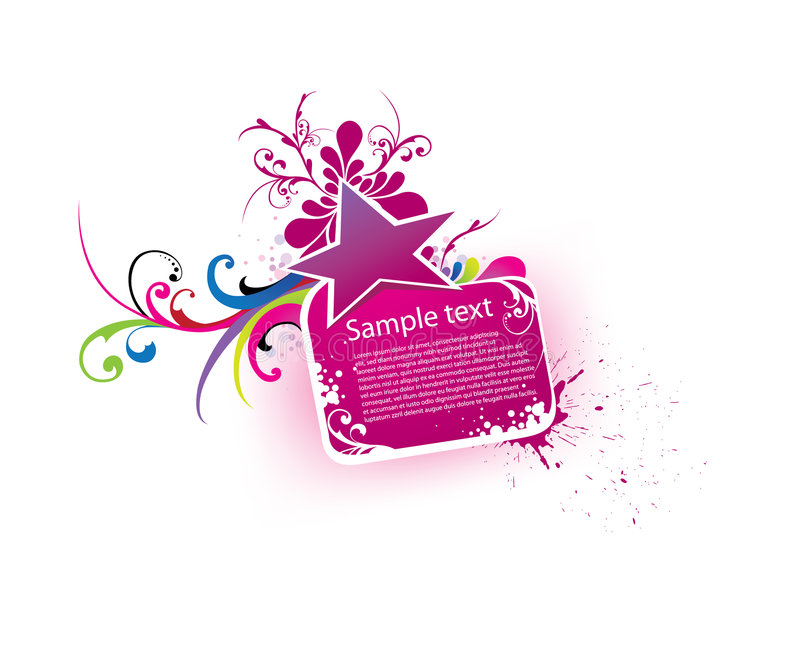 Beautiful vector banner vector illustration