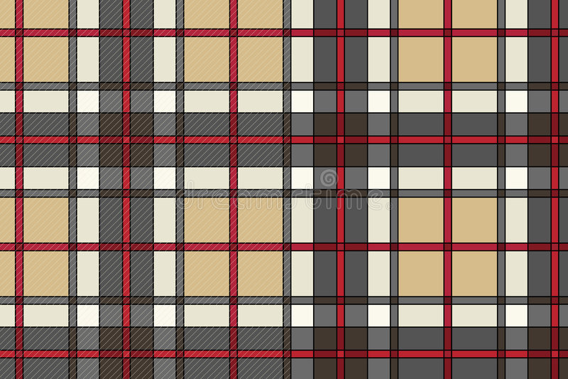 Download Beautiful Vector Scottish Cloth Stock Vector - Image: 3993393