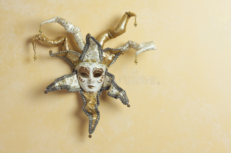 Beautiful Venetian Mask stock image