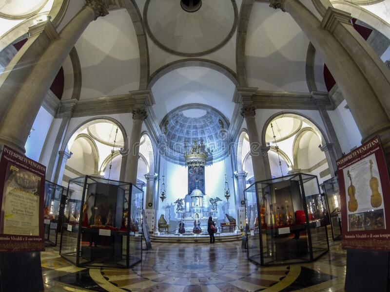 The beautiful Venice churches. The beautiful Venice churches, Italy, Europe royalty free stock image