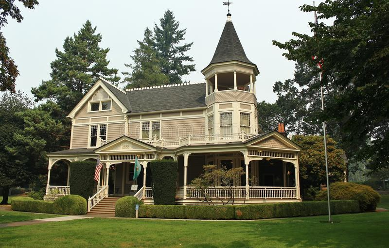 Beautiful Victorian Home stock photography