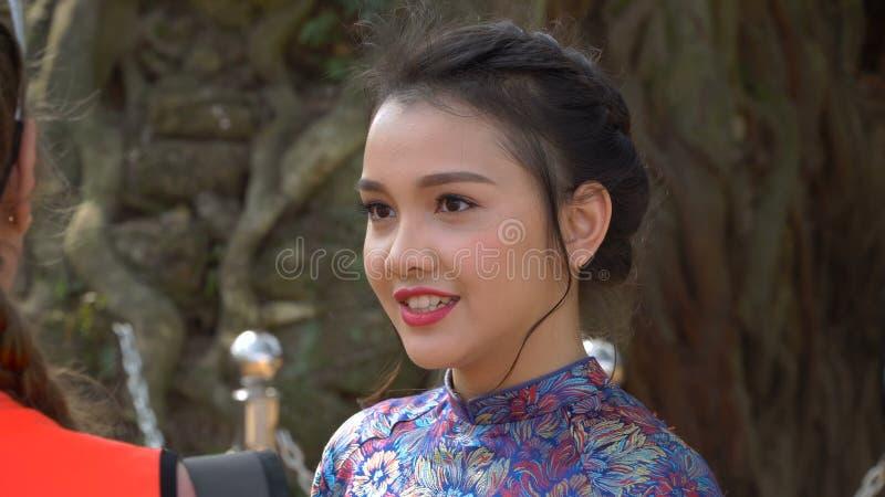 Beautiful vietnamese asian girl