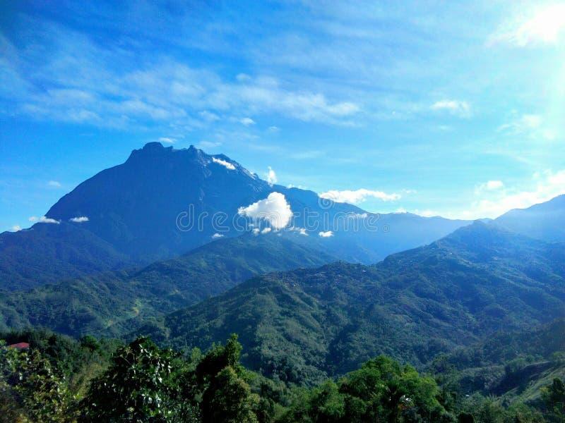 Kinabalu Mount, Sabah, Malaysia. royalty free stock image
