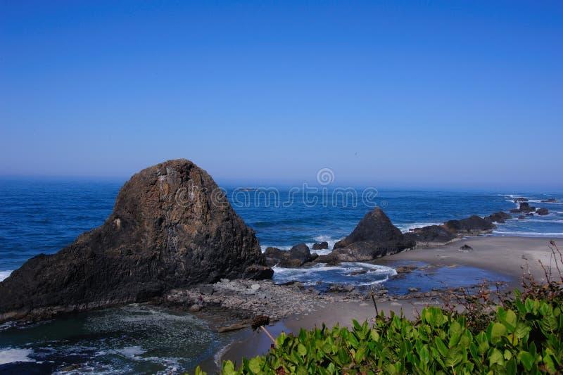 Beautiful View of Cape Perpetua royalty free stock photo