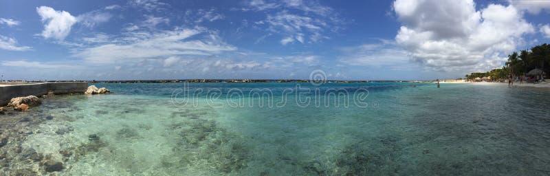 Beautiful view at Curaçao stock photo
